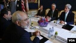 ایران د اتمي پرگرام په سر خبرې اترې
