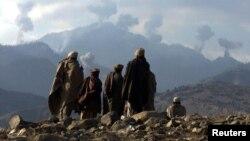 پاک افغان سرحد کا وہ علاقہ جہاں اطاعات کے مطابق داعش کے جنگجو فعال ہیں۔ فائل فوٹو