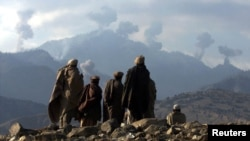 له تیرودوو اونیو داعش د تورې بوړې د نیولو لپاره له طالبانو او افغان ځواکونو سره جګړه پیل کړې ده.