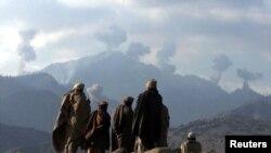 دو هفته پیش داعش برای تصرف توره بوره نبرد با نیروهای افغان و طالبان را آغاز کردند