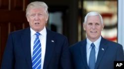 Дональд Трамп и Майк Пенс