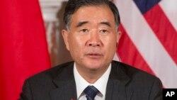 Wang Yang, mataimakin Fiyain Ministan China, kasar da take ta kaso mafi tsoka a sabon bakin