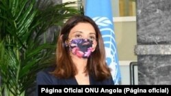 Zahira Virani, representante residente das Nações Unidas em Angola