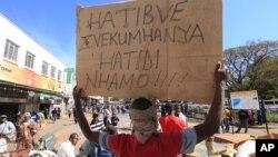 Zimbabwe Vendors Demonstration