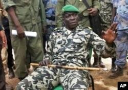 Capitaine Amadou Sanogo, chef de la junte au Mali