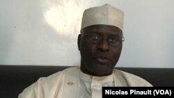 Abbou Kaza, gouverneur de la région de la région de Diffa, Niger, 2 mars 2016 (VOA/Nicolas Pinault)