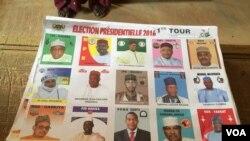 Liste des candidats à l'élection présidentielle du 20 février 2016 au Niger