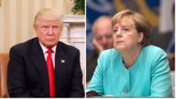 Donald Trump နဲ႔ Angela Merkel ဘာေဆြးေႏြးၾကမလဲ