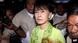 Khôi nguyên giải Nobel Hòa bình, lãnh tụ đối lập Miến Điện