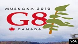 Pertemuan G-8 tingkat menteri kali ini berlangsung di Kanada.