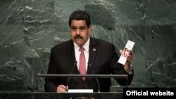 Nicolás Maduro, presidente de Venezuela, saludó la paz en Colombia y la reconciliación entre Estados Unidos y Cuba.