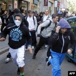 Protest studenata u Lionu