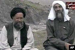 بن لادن اور ایمن الزواہری (فائل فوٹو)