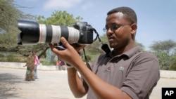 Mohamed Mohamud, jornalista morto em 2013 na Somália