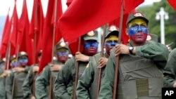 El anuncio de los ejercicios militares lo hizo Maduro durante el acto de salutación de fin de año de la Fuerza Armada Nacional.