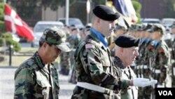 El batallón 787mo de la policía militar ya ha experimentado los primeros cambios.