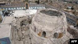 Samarra'da Şiiler toplanırken kentte güvenlik önlemleri arttırımış durumda