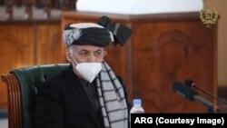 Presiden Afghanistan Mohammad Ashraf Ghani, 5 Desember 2020. (Foto: Courtesy/ARG)