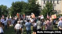 Վաշինգտոնի Շերիդան հրապարակ, 2017թ. մայիսի 17