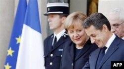 Sarkozi dhe Merkel bien dakord në hapat për të shpëtuar monedhën euro