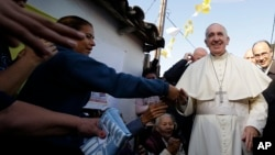 Папа Римський відвідує район Банадо Норте