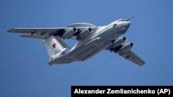 4일 한국의 방공식별구역을 비행한 러시아 군용기와 같은 기종의 A-50 조기경보관제기.