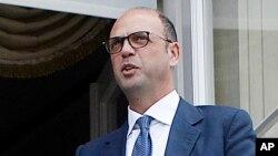 Le ministère italien des Affaires étrangères Angelino Alfano, 14 juin 2017.