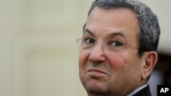 Israeli Defense Minister Ehud Barak (January 2012 file photo)