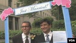U New Yorku homoseksualni brak legalan