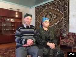 Azime Umerova və Rüstəm Umerov