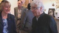 نمايش آثار لوريس چکناواريان «موسيقی روی بوم» در گالری سيحون در لس آنجلس