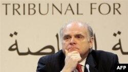 Tužilac Danijel Belmar iz Kanade na početku rada međunarodnog tribunala za suđenje osumnjičenima za ubistvo libanskog premijera Rafika Haririja (arhivski snimak)