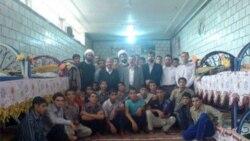 دیدار مدیر کل زندانهای خوزستان با مددجویان کانون اصلاح و تربیت اهواز