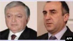 Azərbaycan və Ermənistan xarici işlər nazirləri