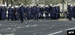 Bahraynda politsiya namoyishchilarni qurol bilan tarqatdi