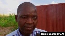 Graça Manuel, secretário-geral provincial do Sinpro de Malanje