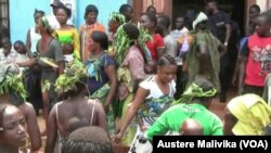 La population de Beni a fait le deuil après l'assassinat du colonel Mamadou Ndala près de Beni, dans l'Est de la RDC.