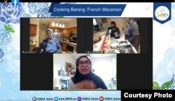 Kegiatan memasak secara daring bersama IMSA Sister (dok: IMSA Sister)