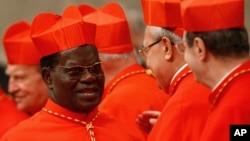 Mgr Laurent Monsengwo, l'archeveque de Kinshasa