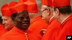 Le cardinal Laurent Monsengwo, archévêque de Kinshasa