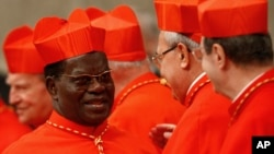 Mgr Laurent Monsengwo, archévêque de Kinshasa