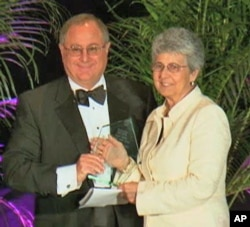 Florida's state court of appeals Judge Rosemary Barkett received this year's Award for Public Service.