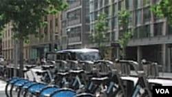 London: Biciklom na posao
