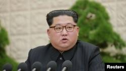 南北韓峰会在即金正恩(圖)能否履行承諾令人懷疑。
