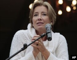 British actress Emma Thompson (file photo)