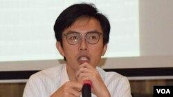 社民連主席吳文遠 (美國之音湯惠芸拍攝)
