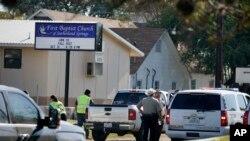 Abajejwe ubutungane ahabereye ubwicanyi ku rusengeri First Baptist Church mu gisagara ca Sutherland Springs, Texas.