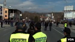 Macedonia protest