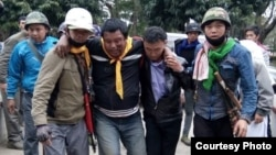 Pat Jasan မူးယစ္ႏွိမ္နင္းေရးအဖဲြ႔ တိုက္ခိုက္ခံရ- Photo credit to Jade Land Kachin- La N Lung Lung FB.