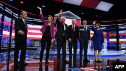 Candidatos democratas mediram forças em Las Vegas